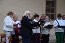 Musik auf dem Kirchplatz
