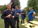 Arbeiten am Weinkeller